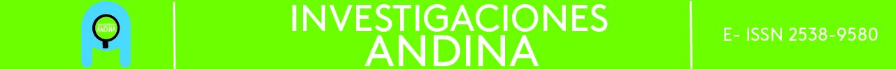 Banner Revista Investigaciones Área Andina